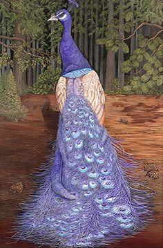 Purple Peacock | PURPLE PERFECTION - PEACOCK