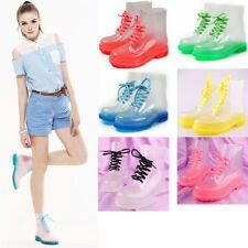 New Fashion Transparent Crystal MS Candy Colors Flat for Rain Boots Martin Boots Dr. Martens, Transparent Boots, Doc Martens Style, Martin Boots, All Things Cute, Girls 4, Candy Colors, Adidas Stan Smith, New Shoes