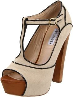 Steve Madden Womens Fanccyy Platform Pump I want this shoe so badly!