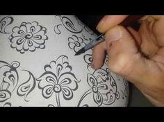 Hatai Çizimi - Msgsü Mimari Restorasyon - YouTube