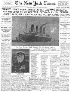 Titanic Tragedy essay