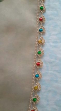 Kolay Tig Oyasi 5 - Soak Tutorial and Ideas Crochet Edging Patterns, Crochet Borders, Tatting Patterns, Baby Knitting Patterns, Crochet Designs, Crochet Stitches, Crochet Cross, Bead Crochet, Crochet Doilies