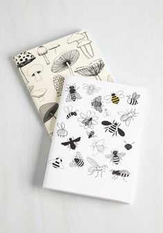 At Fun with Nature Notebook Set. Appease your earthy side with these charming notebooks. #multi #modcloth
