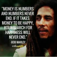 "Many confuse/equate Wealth with Money…! That is one of the greatest flaws of Humanity…! Shout out @briceleckpa - ""Money is numbers and numbers never ends. If it takes money to be happyu, then your search for happiness will never end."" - Bob Marley .. #Happyness #hardworkpaysoff #hardwork #MakeYourOwnLane #motivation #MillionaireLifestyle #hustle #moneymaker #BillionaireLifestyle #startuplife #successful #Inspiration #successisaresult #love #motivation #quotes  @and14all_brand and1forall.com"