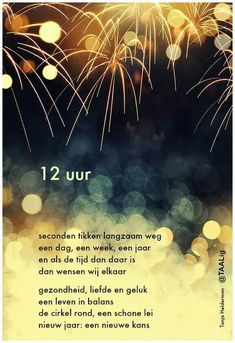 New Year Poem, New Year Wishes, Happ New Year, Me Quotes, Funny Quotes, Dutch Quotes, Christmas And New Year, New Years Eve, Holidays And Events