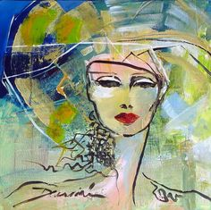 Damian tirado Painting People, Figure Painting, Art Impressions, Abstract Portrait, Paintings I Love, Whimsical Art, Face Art, Art Oil, Painting Inspiration