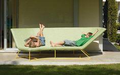 Lounge-Sofa Ultra Sofa für draußen - Tipp des Tages - [SCHÖNER WOHNEN]