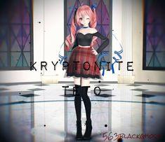 .:Model DL:. Kryptonite Teto by 563blackghost.deviantart.com on @DeviantArt