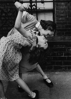 Tango in the East End, London - by Thurston Hopkins - 1954