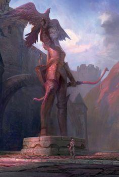 Chronicle2_Statue_of_Alleria.jpg (1695×2510)