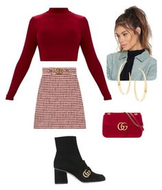 Untitled #57 by denisa-gabriela on Polyvore featuring polyvore, fashion, style, Gucci, Lana, NA-KD and clothing