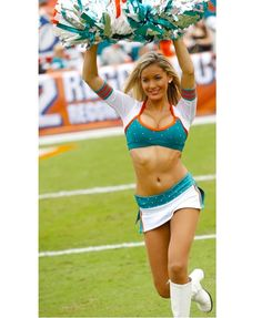 Miami Dolphin Cheerleaders-Hottest Cheerleader Squads