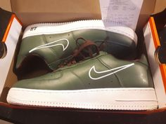 fc4b0e07585b Authentic Air Force 1 Low Retro Size 10.5 Hong Kong Deep Forest White  845053-300  Nike  CasualLifestyleShoe