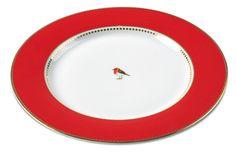 #11: Pip studio 17cm red plain love birds cake plate Quantity wanted : 2 ~ 13€ each