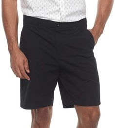 3a6f1217fc Men's Apt. 9 Premier Flex Regular-Fit Stretch Flat-Front Shorts #Apt9