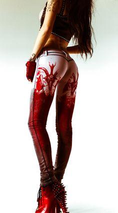 Love the hot ass RED.