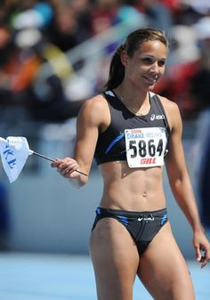 Lolo Jones Olympic Hurdler, my daughter may never run like her but I pray she learns to be as tenacious as Lolo.