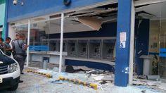 #Polícia: Bandidos explodem caixas eletrônicos em Diadema, Grande SP