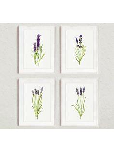 Lavendel-Art Print-Satz von 4 grün und lila Lavendel Aquarell Malerei Home Decor. Grüne Blätter Botanischer Poster. Lavantula Pflanze Gewürze und Kräuter Küche Wand Dekor. Preis ist für den Satz von 4 verschiedenen Lavendel-Kunstdrucke, wie auf dem ersten Foto dargestellt.  Art von Papier: Drucke bis zu (42 x 29, 7cm), 11 X 16 Zoll Größe auf Archivierung Säure frei 270g/m2 weiß Aquarell Fine Artpapier gedruckt und behält das Aussehen des original-Gemälde. Größere Drucke werden auf 200 g/m2…