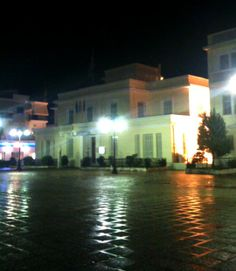 Μεσολόγγι Jazz Bar, Four Square, Greece, Mansions, House Styles, Home, Decor, Greece Country, Decoration