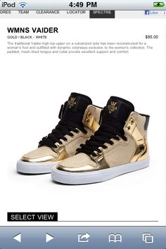brand new 46789 f79a4 golden is aiightt, but black or grey supras are better (so much better)  goldens for like usher