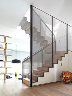 Hill Top Cottage was designed by Luigi Rosselli Architects Stairs And Staircase, Modern Staircase, Staircase Design, Staircases, Stairs Architecture, Interior Architecture, Interior Design, Craftsman Cottage, Interior Stairs