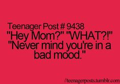 Teenager Posts: