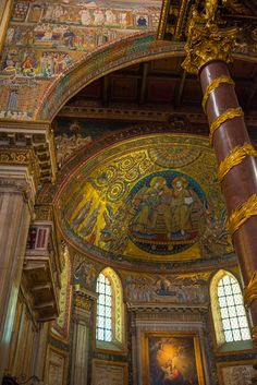 Tara Goes Europe: Rome, Italy Basilica di Santa Maria Maggiore