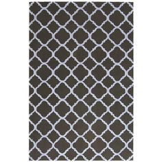 Newport Black/Blue 3 ft. 9 in. x 5 ft. 9 in. Area Rug
