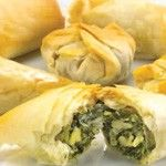 For h'ors d'oeuvres I would serve something like these spinach and cheese pastries!