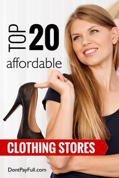 Fashion on a budget? Save money on this Top 20 Affordable Clothing Stores that you really need to read about! Brand Name Clothing, Clothing Sites, Womens Clothing Stores, Cheap Online Clothing Stores, Discount Clothing, Boutique Clothing, Women's Clothing, Affordable Clothes, Cheap Clothes