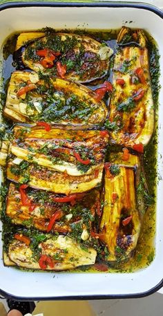 Delicious Salmon Recipes, Yummy Food, Vegetable Dishes, Vegetable Recipes, Low Calorie Recipes, Healthy Recipes, Fermented Foods, Food Dishes, Salad Recipes