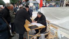 Raccolta firme Assemblee Popolari delle categorie produttive di Andria per costituire una lista per le politiche contro i poteri forti!