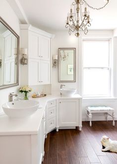 Gwynne Bathroom - transitional - bathroom - toronto - Claire Jefford at Creating Contrast Designs