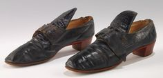 Court Shoes - French - 1780–1800 - Claymoor`s List