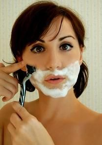 Women typically have little facial hair appart from eyebrows and the vellus hair that covers most of their bodies However in some cases women have noticeable facial hair. Facial Hair Growth, Facial Care, Overprocessed Hair, Vellus Hair, Unwanted Hair, Unwanted Facial, Hair Removal Remedies, Tips Belleza, Beauty