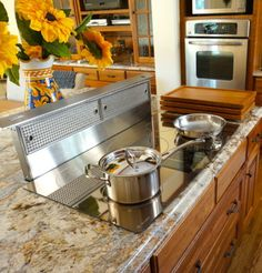 Induction Cooking -- Kitchen Trends - Bob Vila. Induction cooktops are in high demand because they provide more consistent heat than gas.