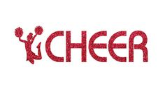 I Cheer Iron On Decal by GirlsLoveGlitter on Etsy