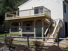 Our Dog S Quot Den Quot Under The Deck With Dog Turf A Ramp From