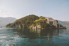 Balbianello peninsula. Location from The Lake Como Wedding Planner #lakecomo #wedding #weddingplanner