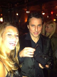 Sophie with Jimmy D Mathews