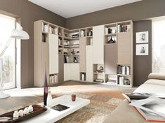 🌟 💖 🌟 💖 47 Incredible Wall Dlments Storage For Your Living-room Contemporary - 45 Benefits of Floating wall storage is a mix of practical storage and decoration mode, o the unit of storage is fix to the wall and is used to manage Cds and Dvds. Living Room Wall Units, Living Room Plants, Living Room Storage, Living Room Colors, Wall Storage, New Living Room, Living Room Modern, Room Arrangement Ideas, Living Room Arrangements