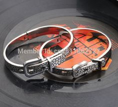 10 Colors 2014 New Brand White Gold Black 316L Stainless Steel Bracelet Adjustable Of Fashion Mens Jewelry Wholesale S28