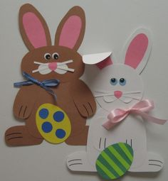 Easter bunny craft idea Easter time has come. İf you want to talk about easter and make some activities we have some suggestions for you. April Easter, Easter Art, Hoppy Easter, Easter Crafts For Kids, Easter Bunny, Easter Decor, Easter Activities, Preschool Crafts, Spring Crafts