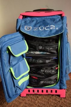 The best travel bags -- ZUCA bags are durable, customizable, and are perfect for any adventure! Plus we have an exclusive zuca promo code Zuca Bag, Best Travel Bags, Rolling Bag, Travel Abroad, Under Armour, Organization, Backpacks, Amazing Ideas, Parenting
