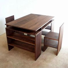 Cool wood & #plywood #furniture from Donald Judd. Crate Furniture, Modular Furniture, Plywood Furniture, Furniture Projects, Furniture Design, Woodworking Finishes, Library Chair, Natural Furniture, Minimalist Furniture