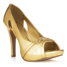Gold heels - got to have these