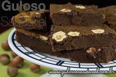 Receita de Brownie de Creme de Avelã
