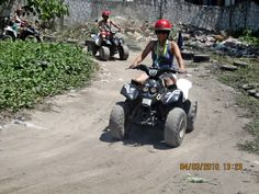 ATV ride in Boracay, Philippines
