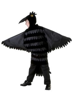 Child Crow Costume- Wolf's costume - Devil the Crow from Maleficent